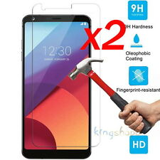 2Pcs 9H Clear Premium Tempered Glass Screen Protector Film Guard For LG G6 2017