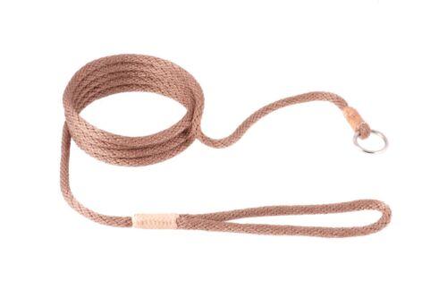 Alvalley Nylon Slip Lead for Dogs 6mm X 6ft Basic Colors