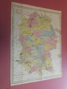100-ORIGINAL-WILTSHIRE-MAP-BY-TUNNICLIFFE-C1791-ORIGINAL-COLOUR