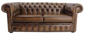 Chesterfield-London-English-2-5-Seater-Antique-Tan-Leather-Sofa-Settee