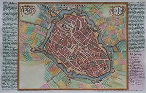 Lille - Originaler Kupferstich Von Gabriel Bodenehr - 1725 Wbmqjaso-10111422-189780260