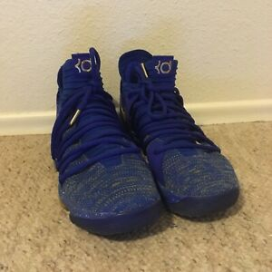 finest selection a83cb 36879 Details about Nike KD 10 X Finals MVP Golden State Warriors Size 10.  897815-403 jordan kobe