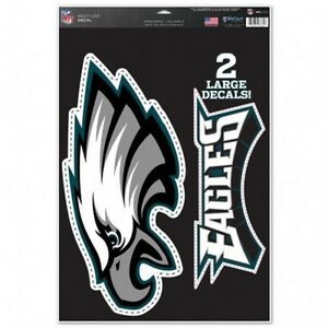 Philadelphia-Eagles-11-034-x-17-034-Multi-Use-Decals-Auto-Walls-Windows-Cornhole