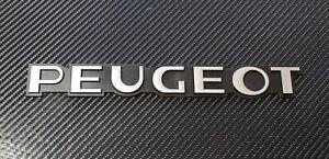 Peugeot Reproduction Chrome Rear Badge suit 405