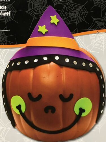 Creatology New Halloween Craft Kit 14 pc for pumpkins Ages 6
