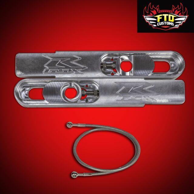 "2001 GSXR 1000 Swingarm Extensions 12"" Long, & 36' Brake Line, GSX-R Extensions"