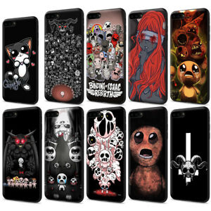 Details about The binding of isaac Afterbirth Black Soft TPU Case for  iPhone XS X 8 7 6S Plus