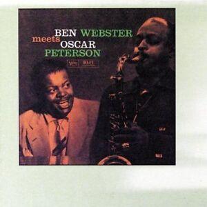 Ben Webster - Ben Webster Meets Oscar Peterson NEW CD