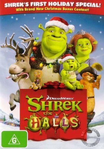 1 of 1 - SHREK THE HALLS : Christmas Special : NEW DVD