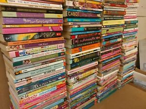 Lot-of-20-Chapter-Books-for-GIRLS-Youth-Early-Reader-Young-Adult-Children-RANDOM