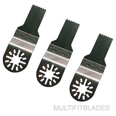 "3 x 2-5//8/"" Fine Tooth Oscillating Tool Blades Milwaukee Multi Tool Compatible"