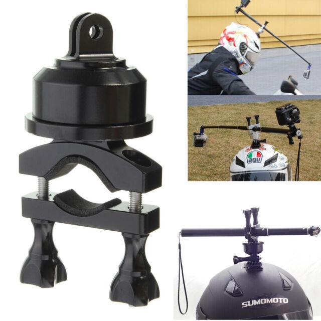 360° Swivel Helmet Self Shot Pole Mount Adapter For Gopro 2 3 3+ 4 Sport Camera