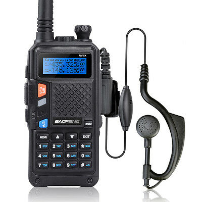 2015 NEW Baofeng UV-5X UHF+VHF 136-174/400-520MHz Dual Band/Watch Two-Way Radio