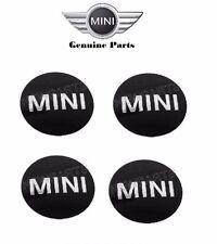 Mini Cooper Wheel Center Cap Emblem Sticker x4 #36136758687 OE