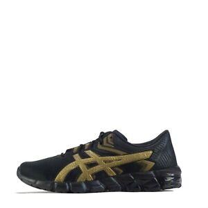 Asics Gel Quantum 90 2 Men's Casual Running Trainers Shoes Black Gold