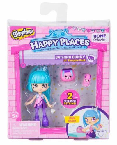 Figure S2 Bathing Bunny SHOPKINS Happy Places Lil Shoppie Pack POLLI polonais
