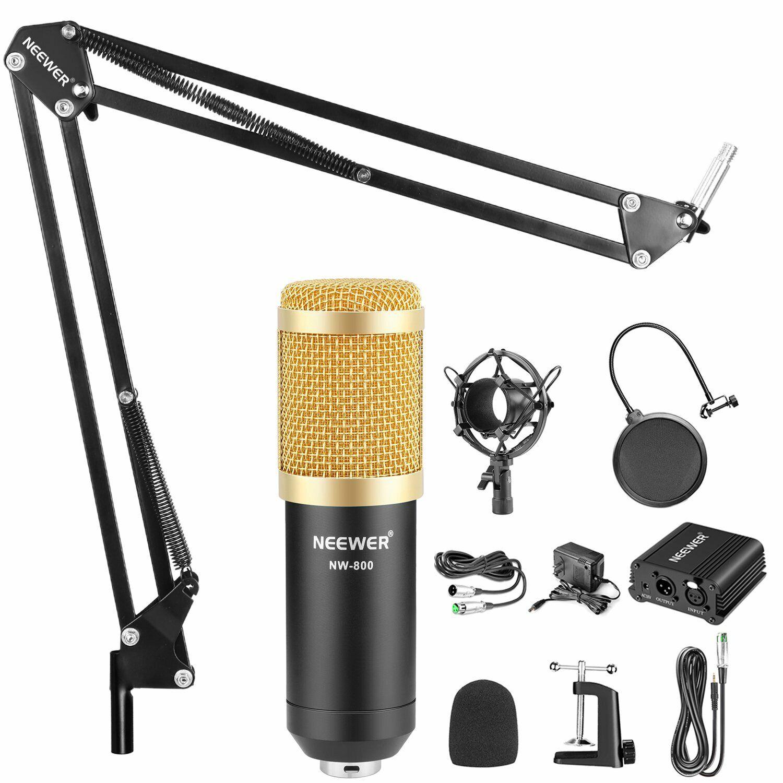 music recording equipment home studio package bundle professional broadcast set 702393927796 ebay. Black Bedroom Furniture Sets. Home Design Ideas