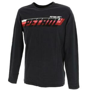 Tee shirt manches longues Petrol industries Tlr609 anth ml tee Gris 93468 - Neuf