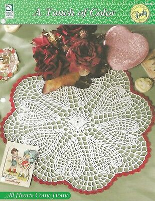 A Touch of Color HOWB Series Tenderness Round Doily Crochet Pattern