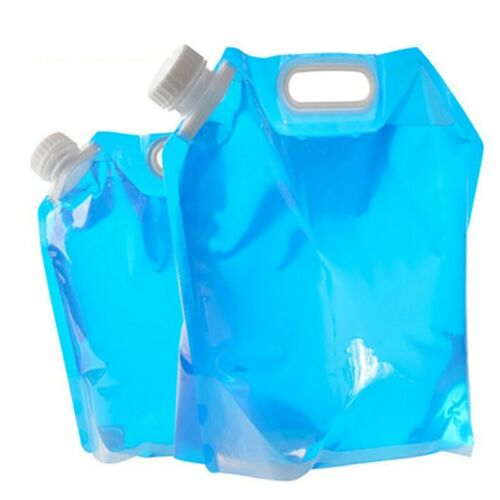 5//10L Folding Drinking Water Bucket Camping Water Container Storage Bag UK Stock