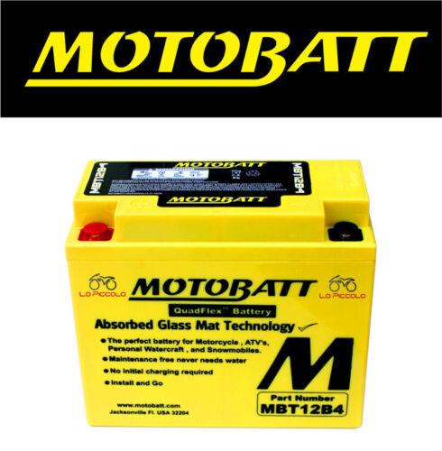 BATTERIA MOTOBATT AGM SIGILLATA YT12B-BS DUCATI 999 2003--2006