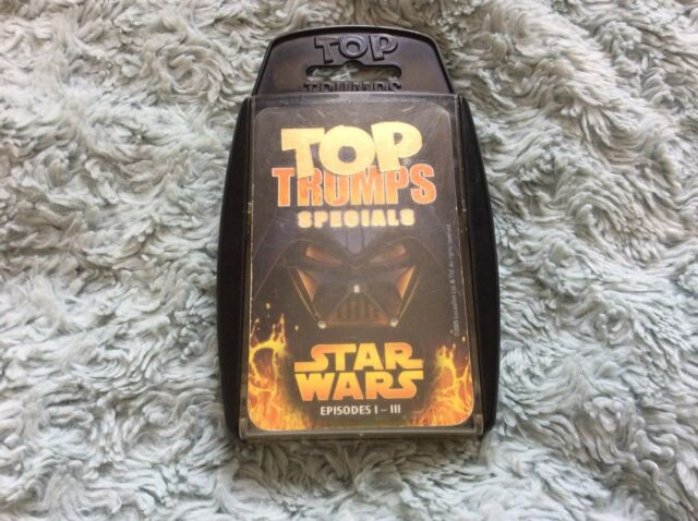 Winning Moves Top Trumps Specials: Star Wars Episodes 1-3