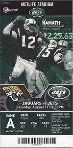 2013-NFL-JAGUARS-NEW-YORK-JETS-FULL-UNUSED-FOOTBALL-TICKET-NAMATH-PHOTO