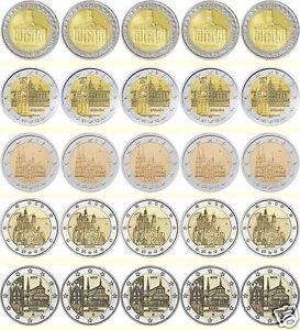 manueduc-ALEMANIA-2009-10-11-12-y-13-LAS-5-CECAS-A-D-F-G-J-25-Monedas