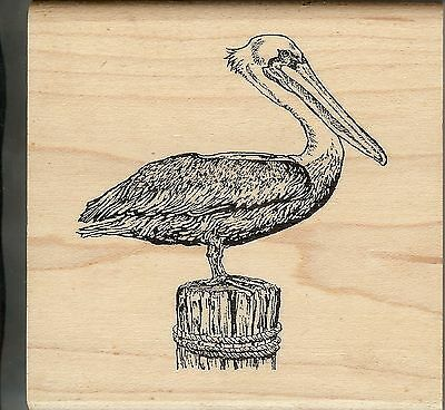 Pelican Inkadinkado Wood Stamp