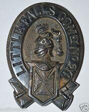 Vintage Antique Golden Knights of Templar Little Falls Com #26 Belt Buckle Rare