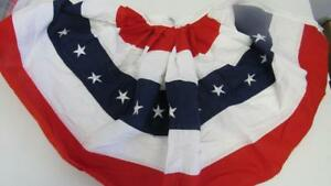 4th-July-Memorial-Day-Patriotic-Bunting-Red-White-Blue-Stars-amp-Stripes-40-x-20