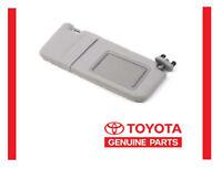 2007-2011 Toyota Camry Gray Sun Visor Right Passenger Side With Vanity Light