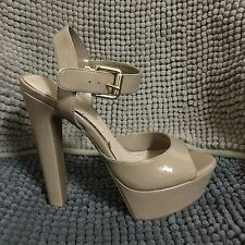Jessica Simpson Nude Heels Shoes - Women's Size 6