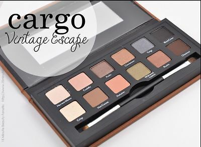 Cargo Cosmetics Vintage Escape Eye Shadow Palette Limited Edition NEW