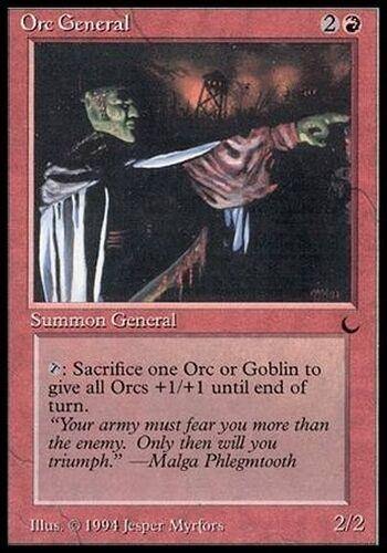 ▼▲▼ Orc General The Dark #73 English Magic