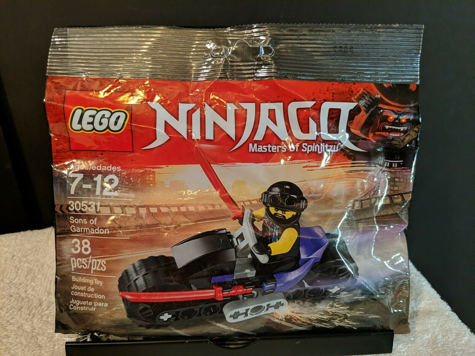 Lego polybag ninjago 30531 sons of garmadon new sealed