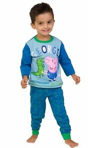 Dinosaurio-Peppa-Pig-Pijamas-De-1-a-5-anos-de-George-Pig-Pijamas-George-Pijama-W16