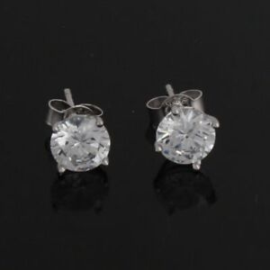 80c681f11 QVC SOLD OUT Epiphany Diamonique Sterling Silver 1.ct Stud Earrings ...