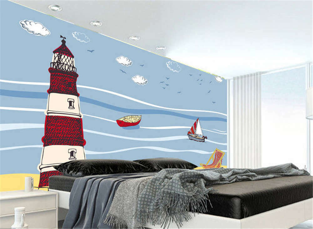 Lonely Cosy Tower 3D Full Wall Mural Photo Wallpaper Printing Home Kids Decor