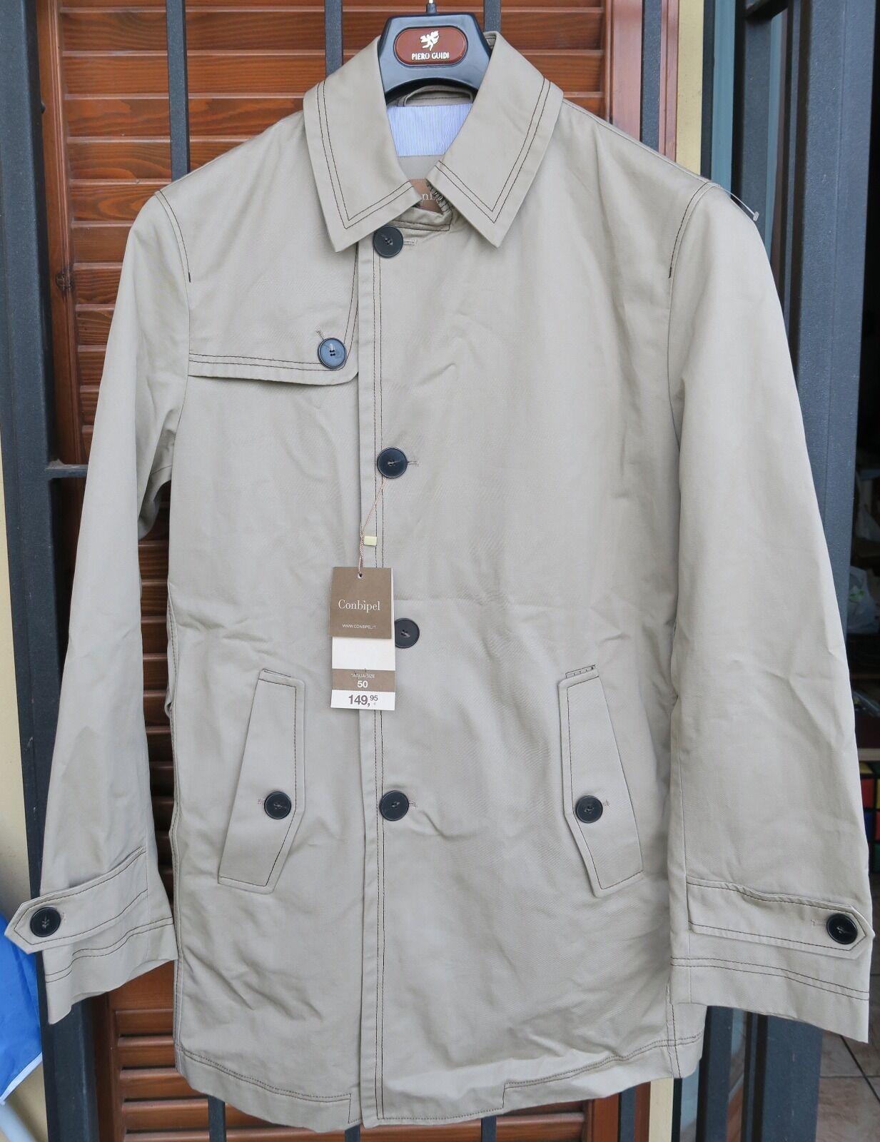 Trench uomo Conbipel nuovo Tg. 50 e 52 - cappotto giacca  df23c82caba8