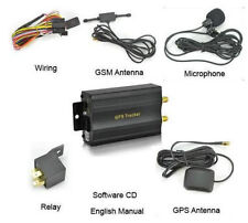 GPS/GSM/GPRS Car Vehicle Tracker TK103-A+Hard-wired Car Charger TRACEUR TRACKER