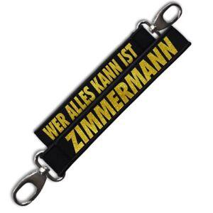 Effizient Neopren Schlüsselanhänger Schlüsselband Zimmermann Geschenk Geburtstag Handwerk