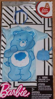 Barbie CARE BEARS FASHION CLOTHES ~Lot of 3 Mattel NEW ~Doll ~Grumpy ~Share Bear