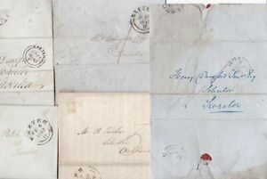 1837-48-5-x-EXETER-PMK-LETTERS-TO-2-DEVON-SOLICITORS-H-DUNSFORD-amp-R-TUCKER