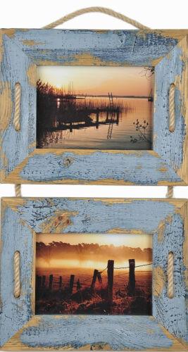 Bois Cadre Photo Cadre Photo Poster Vintage 13x18 10x15 Puzzle 50x70 Couleurs