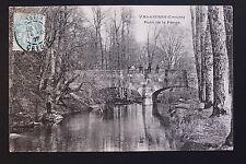 Carte postale ancienne CPA VALLIERES - Pont de la Farge