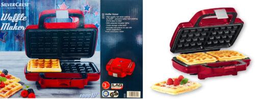 1000W-Argento Crest-strumenti da cucina Wafle Maker