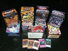 Yu-Gi-Oh 500 Card Mixed Lot! 10 Foils 40 Rares 450 Commons Great Bulk Collection