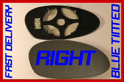 BMW 1 SERIES 125 125i 2004-2009 DOOR MIRROR GLASS BLIND SPOT HEAT RIGHT