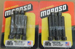 Moroso-46200-Wheel-Studs-1-2-034-20-RH-3-034-Long-8740-Steel-Allen-Socket-Head-PR